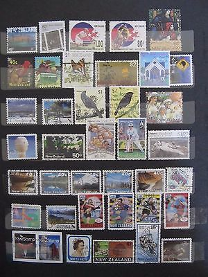 NZ - Lot 1 used stamps