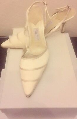 Rainbow Couture wedding ivory Shoes
