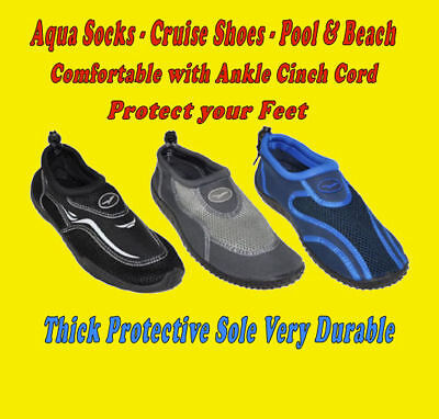 Gull Mens Aqua Shoe Boat Water Sock Surf Pool Beach Cruise Walker men shoes man
