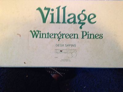 Dept. 56 Wintergreen Pines Pre-Owned Good Condition