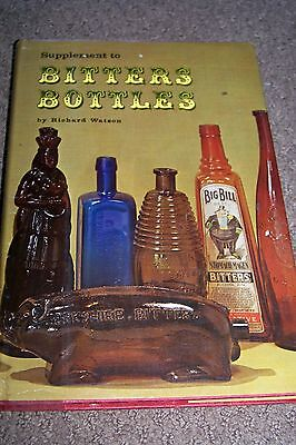 Identification/price Guide Book On Bitters Bottles #2