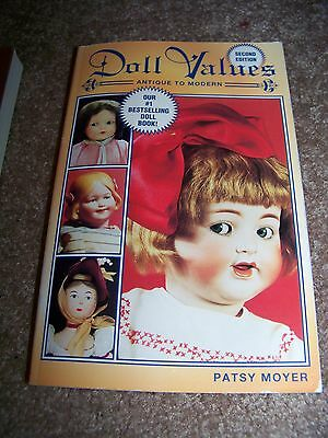 Identification/price Guide Book On Antique Doll Values #2  Collectibles