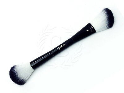 Pana Soft Premium Quality Two-in-One Contour, Highlight and Shade Makeup Brush