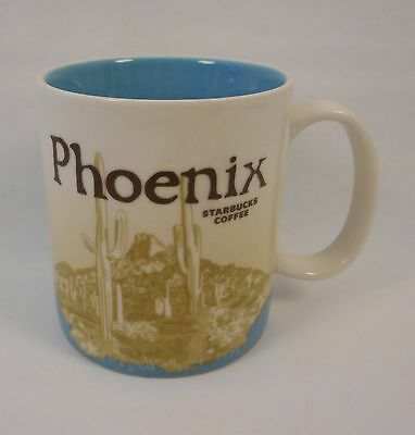 Phoenix Starbucks Coffee Collector Series Mug Cup 2011 16 oz Arizona