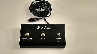 COOL Marshall Three Button Amplifier 2 Channel FX Effect Footswitch Pedal 5 Pin