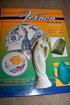 Identification/price Guide Book On Vrnon Pottery And Collectibles