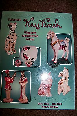 Identification/price Guide Book On Kay Finch Collectibles