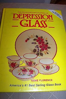 Identification/price Guide Book On Depression Glass #2