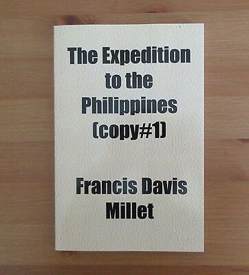 reprint SPAN AM WAR old book PHILIPPINES francis davis millet