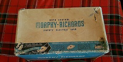 Vintage Morphy-Richards Automatic Iron With Original Box
