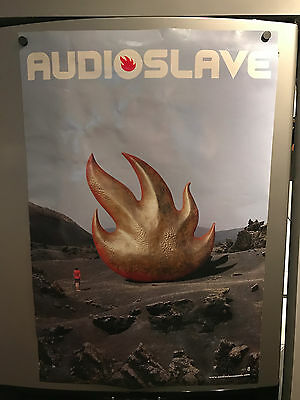 Audioslave poster! Double sided. 2ftx3ft Rage Against The Machine Soundgarden