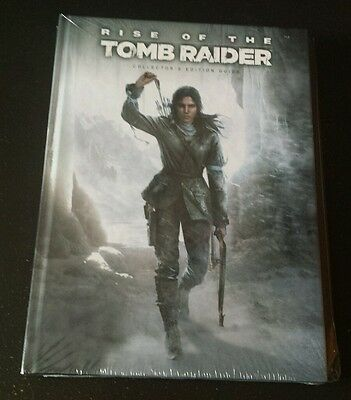 Rise of the Tomb Raider Collector's Edition Guide, Brand New