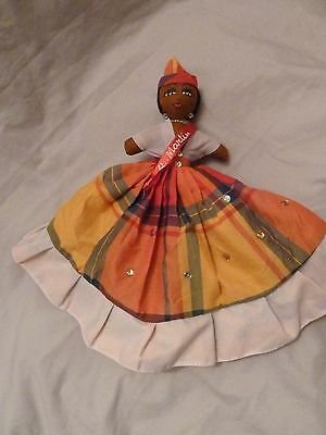 Unusual Two in One 12-inch Doll    St. Martin Souvenir (X)