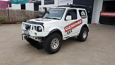 Suzuki Jimny Deluxe Winch Bullbar ADR Approved Airbag Compatible