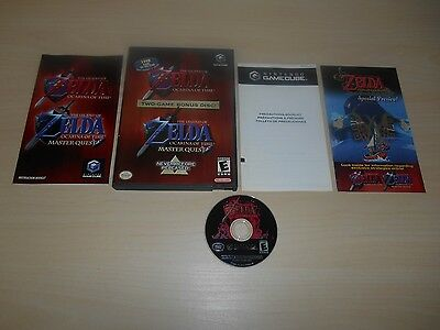 The Legend of Zelda Ocarina of Time Master Quest Complete Nintendo GameCube