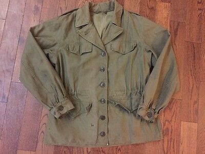 Vintage WW2 M-1943 Women's Field Jacket - 14R