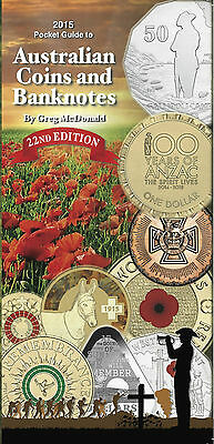 AUSTRALIAN COIN & BANKNOTE 2015 CATALOGUE by GREG McDONALD 22nd Edition