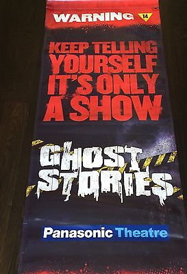 GHOST STORIES AMAZING POSTER Banner Toronto Theater Collectible!