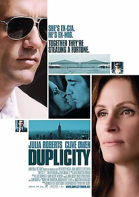 Duplicity Movie Poster 18'' X 28'' ID:2