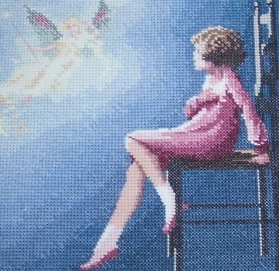 "Counted cross stitch chart - "" Its a Fairy ""."