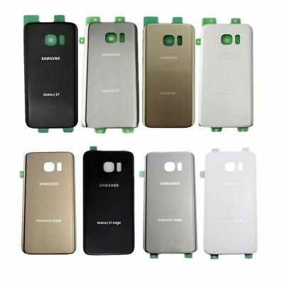 OEM Housing Back Rear Glass Case Battery Door Cover For Samsung Galaxy S7&S7Edge