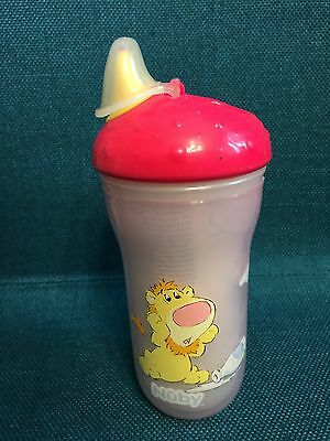 1 NEW Nuby Soft-Sipper Cup Insulated & No-Spill