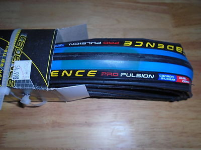 Cadence Pro Pulsion Tire, Blue, 700 X 23, New, Please Read