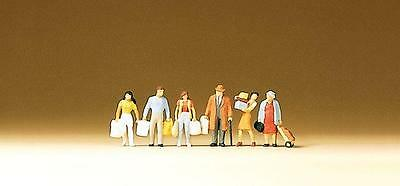 Preiser N Scale Shoppers with Bags - Item # 79015