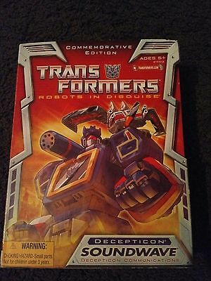 Hasbro Anniversary Edition Soundwave new and sealed Transformers
