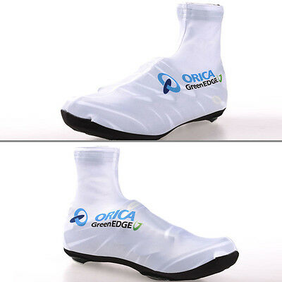 Fashion Mens Cycling Shoes Cover Waterproof Outdoor Sports Bike Overshoes White