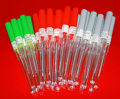 25 x CATHETER PIERCING NEEDLES QUALITY BODY PIERCING *ANY MIX GAUGES*