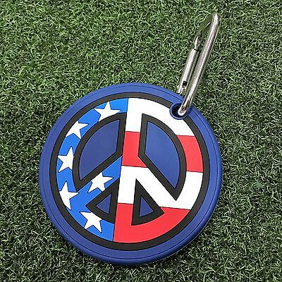 2016 Scotty Cameron us open peace  Putting Disk Training Aid w/ Carabiner