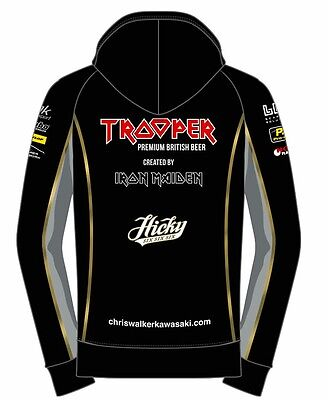 Iron Maiden OFFICIAL TROOPER BEER JACKET  Size   Large