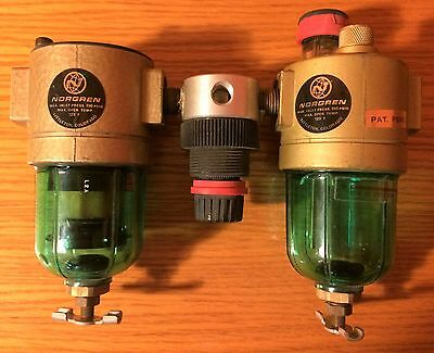 "Norgren 1/4"" Regulator Filter Lubricator Combo"