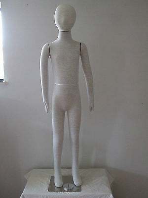 New 9 Years Kid/Child/Childern Full Body White Pinnable Flexible Form/Mannequin