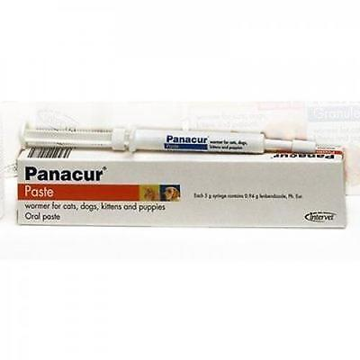 Panacur Paste for Cats and Dogs 1 Syringe of 5g