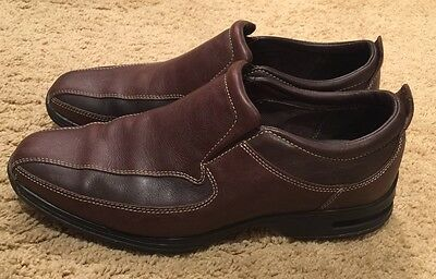 Men's Cole Haan Brown Leather Slip-on Loafers Size 9.5 - EUC