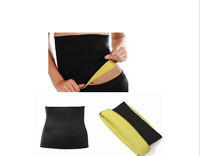 Waist Trimmer Exercise Wrap Belt Slim Burn Fat Sweat Weight Loss Body Shaper USA