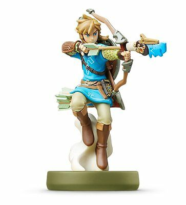 NEW 3DS Wii U Amiibo Link (Archer) The Legend Of Zelda Breath Of The Wild Japan