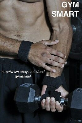 Gym Smart -The Simple Black Weightlifting Strap