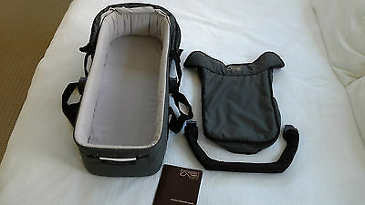 Mountain Buggy CarryCot Bassinet Grey With Leg Protection