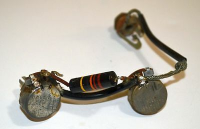 1959 Gibson Wiring Harness Pots CENTRALAB Les Paul Jr ES Burst Bumblebee