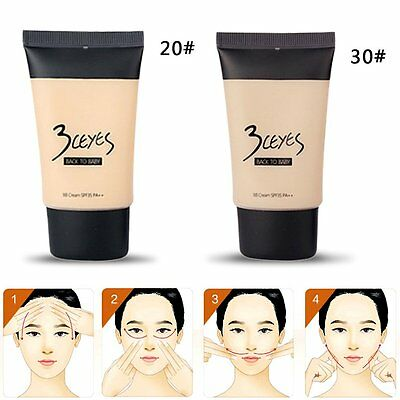 3Ceyes Natural Facial Makeup Moisturizing BB Cream Concealer Perfect Cover AU