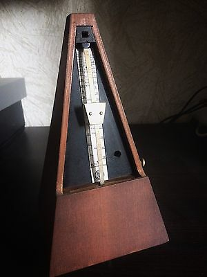 Antique Maelzel Metronome, produced 1971, East Germany made