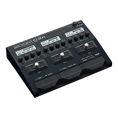 Zoom G3n Guitar Multi-Effects and Amp Simulator, NEW, $399 rrp