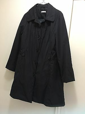 Women's Ladies Black Coat Size 16 Target Brand Autumn Winter Jacket