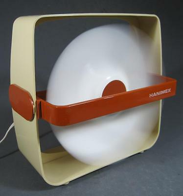 Retro/vintage 70s space-age plastic Hanimex electric fan kartell-era