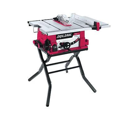"""Skil 15 Amp Corded Electric 10"""" Table Saw with Folding Stand 3410-02 NEW"""