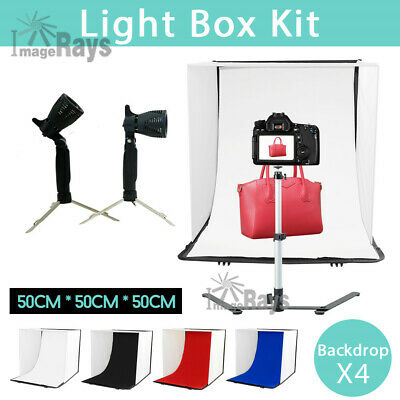 50cm Tent Photography Soft Box Tent Light Cube Photo Studio Softbox Lighting Set