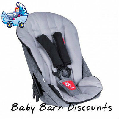 Phil & Teds Dash Double Kit (Second Seat) - Grey Marl